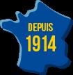 Depuis 1914